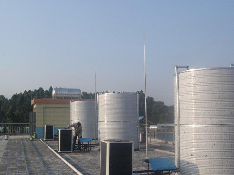School project——OSB air source heat pump water heater BC35-040T