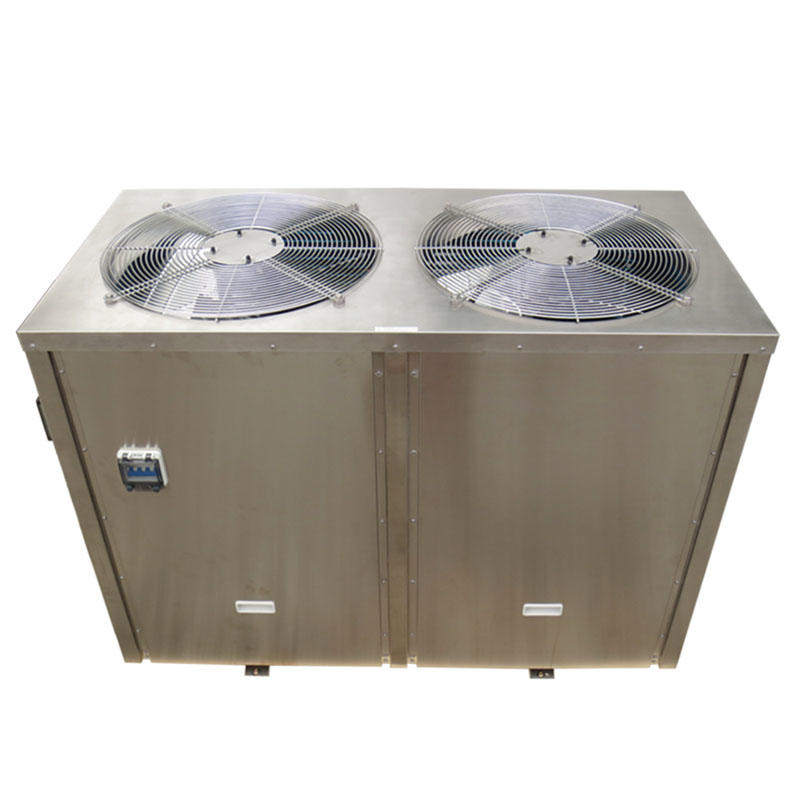 Stainless steel cabinet air to water swimming pool heater and chiller BS16-115T