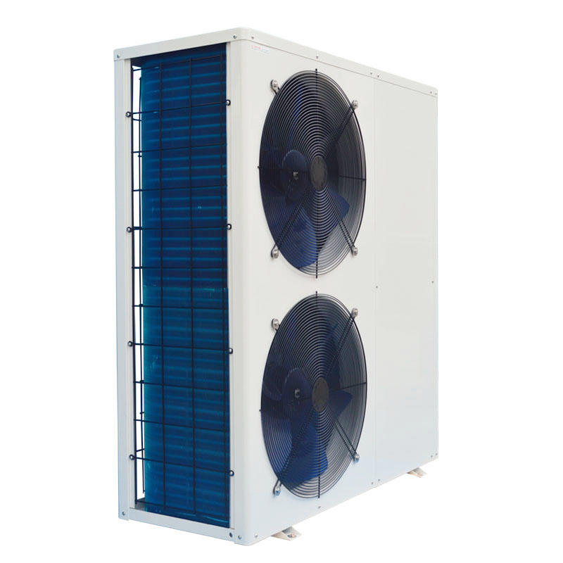 Double fan design air source heat pump heater for swimming pool/hot spring BS16-055S