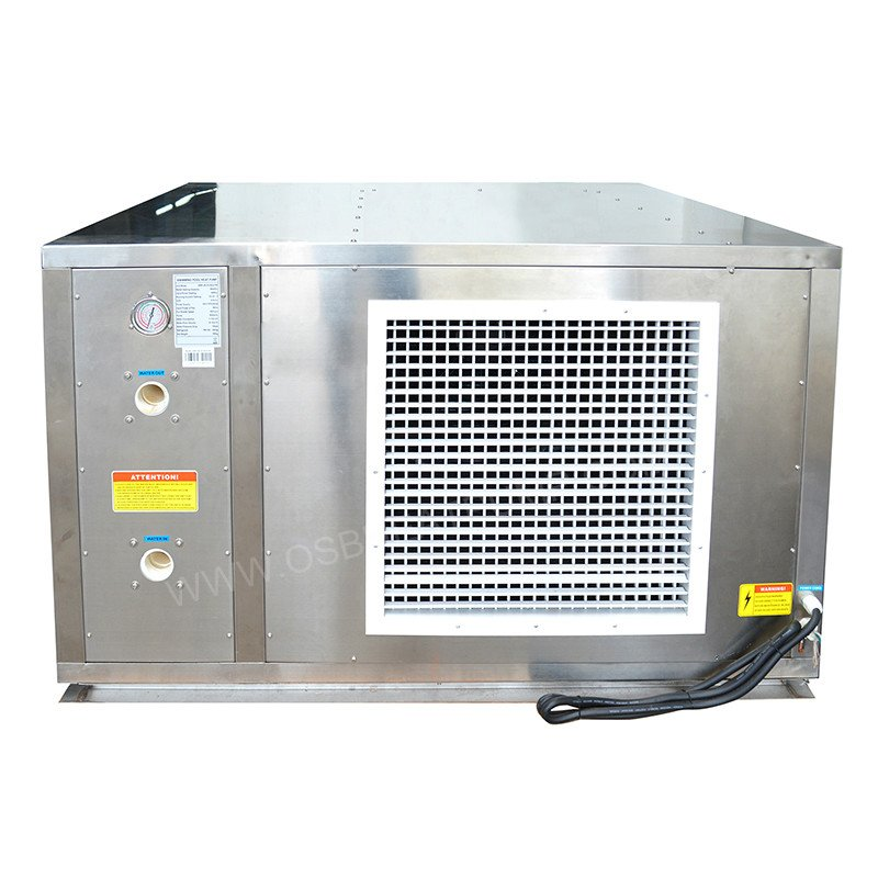 stainless steel swimming pool heat pump