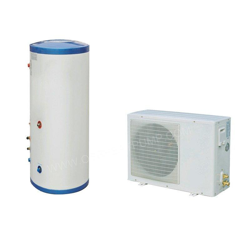1.5 Ton Fluorine Cycle Air Source Heat Pump Water Heater With Pressure Water Tank For Hot Water Heating
