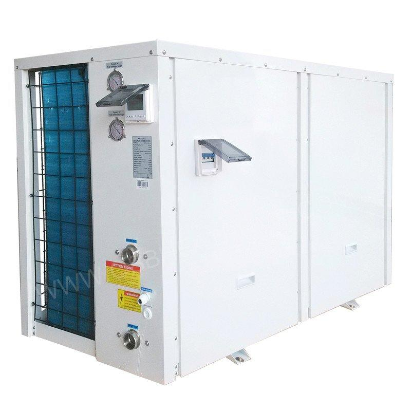 85℃ 380v 3-phase High Temperature Heat Pump, Twin Compressor R134a Industrial Heater BH35-056T