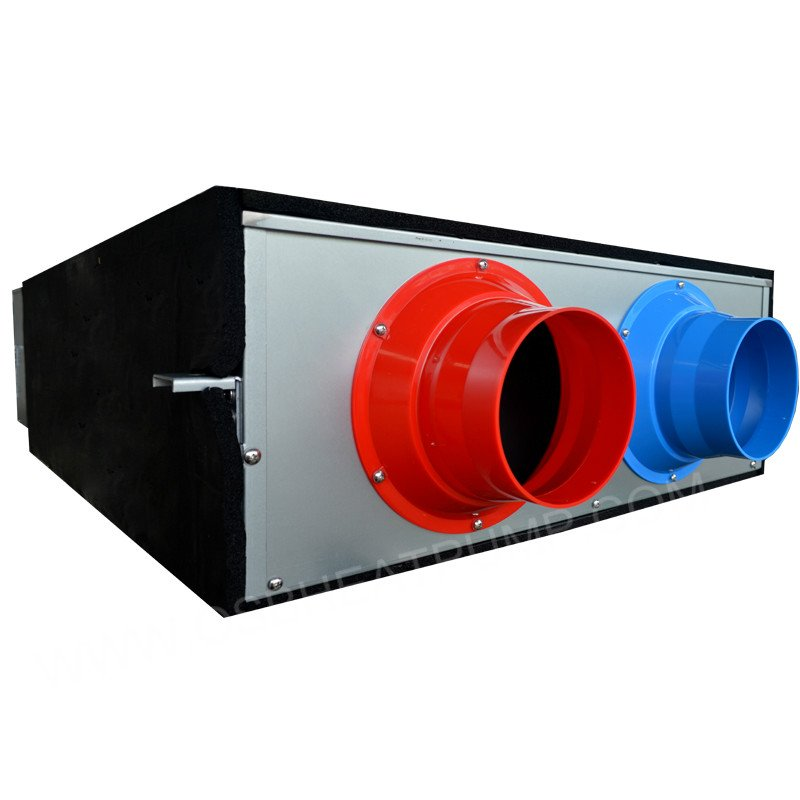 High efficient small airflow energy recovery ventilator