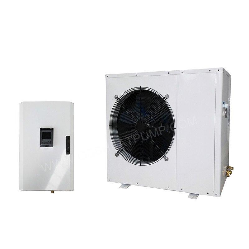 split air to water heat pump