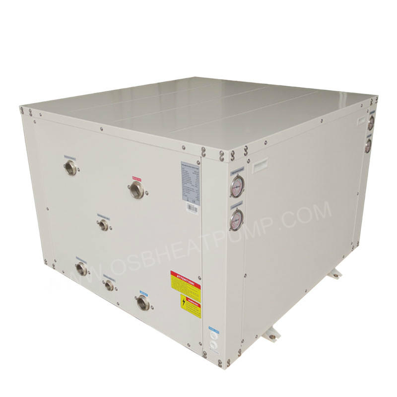 DC inverter heat pump geothermal heat pump