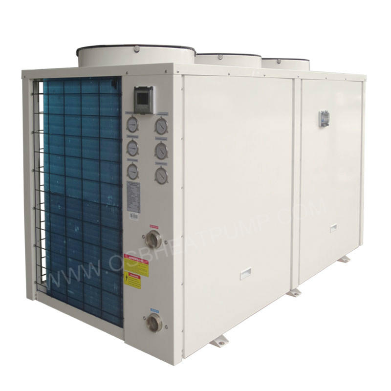 40kw air to water CE approved heat pump for radiator heating