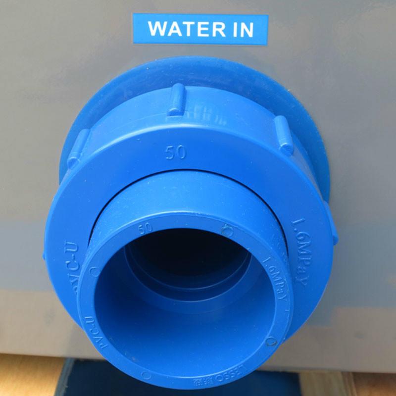 220V SPA Grey Metal Heat Pump Water Heater