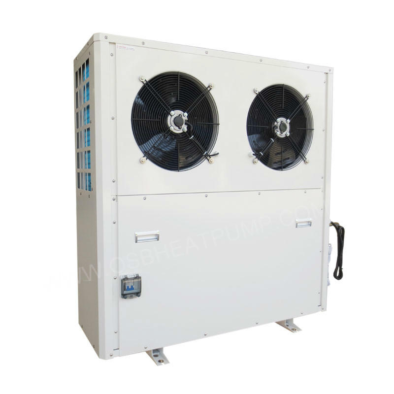 Low noise high cop heat pump water heater factory