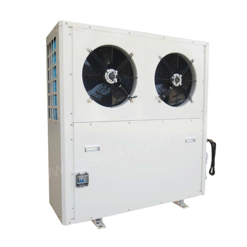 Low noise high cop heat pump water heater factory