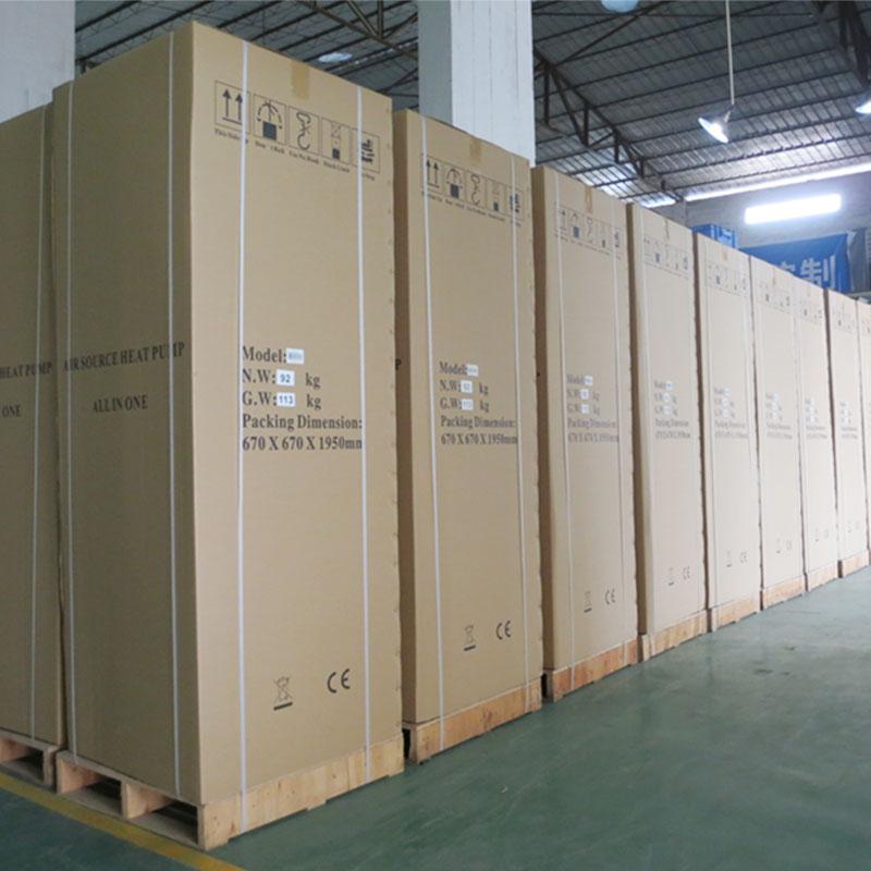 product-OSB-250L All In One Ac Heat Units Monoblock Heat Pump With WiFi Remote Control ZR9W-250VF3d-