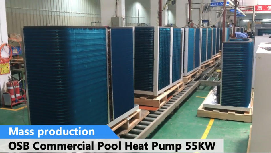 OSB Commercial Pool Heat Pump 55kw