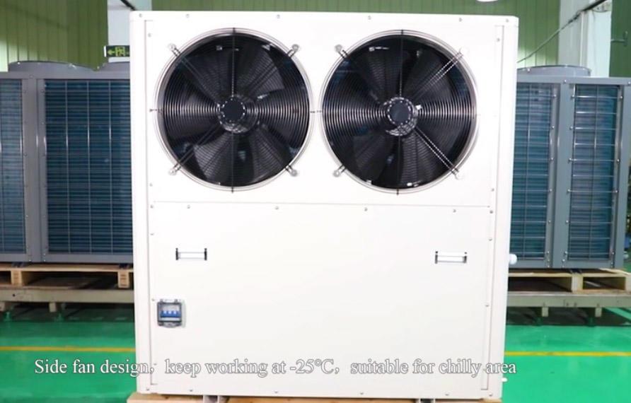 15kw EVI high temperature heat pump
