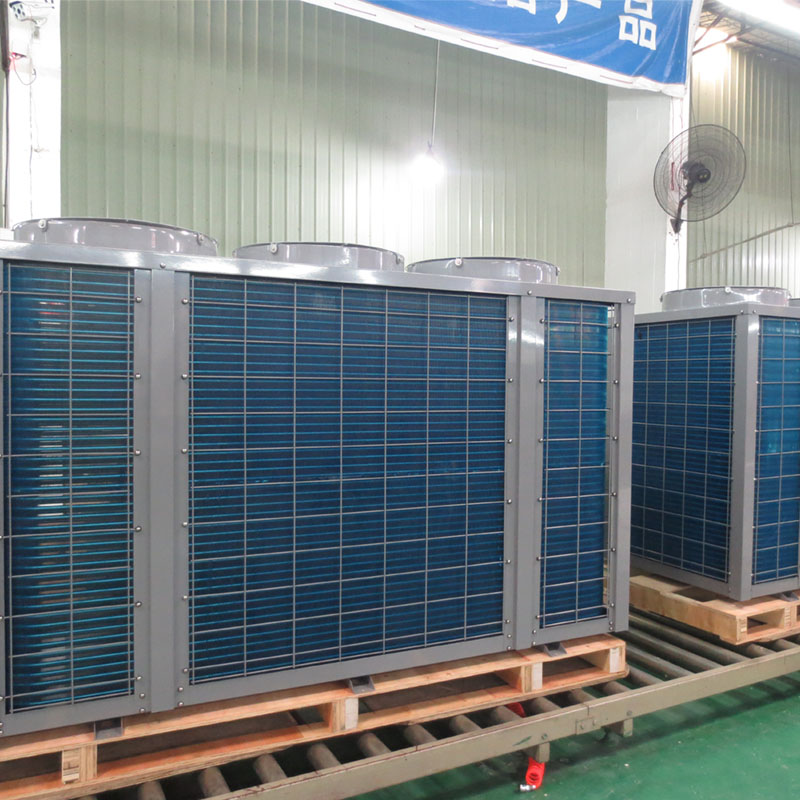 product-OSB-380v3 phase50-60Hz Vertical Titanium Swimming Pool Heat Pump water heatercooler BS35-195