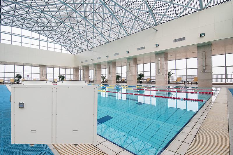 product-OSB-55kw Vertifical Single Phase Pool Heat Pump-img-1