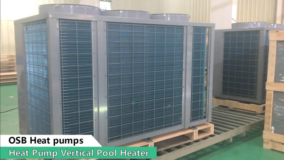 OSB heat pump vertical pool heater
