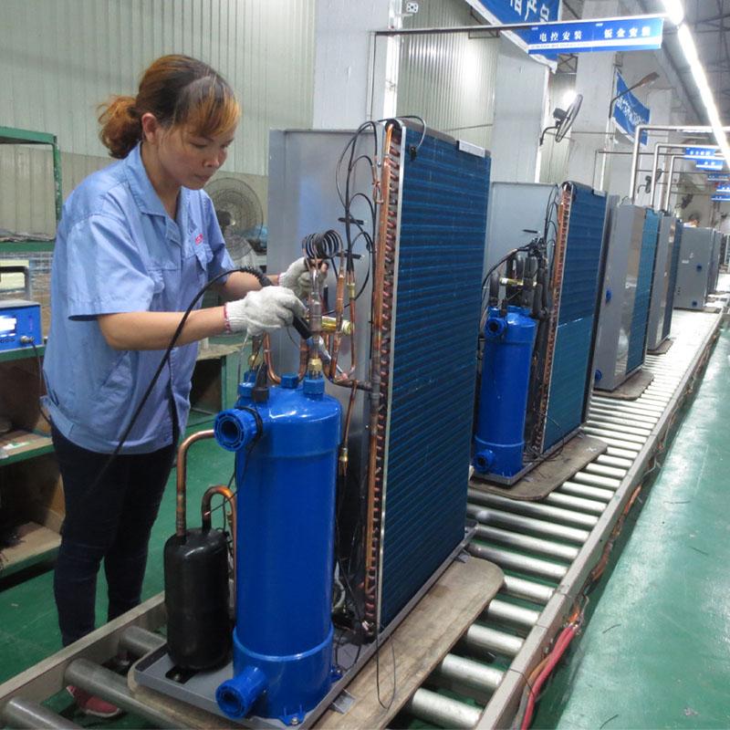 product-OSB-220V SPA Grey Metal Heat Pump Water Heater-img