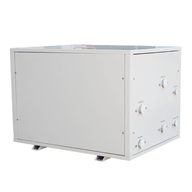 Ground Source water to water heat pump, geothermal boiler - heat pump, R410A super heating systems BGB35-275/P