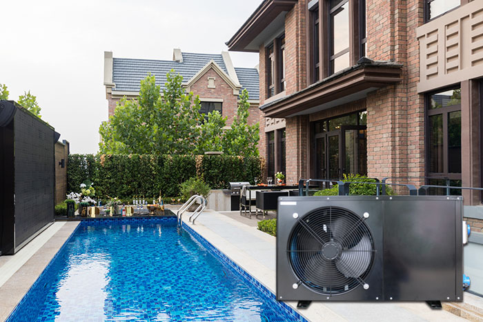 product-Black Air Source Heat Pump For Swimming Pool 53kw BS15-016S-OSB-img-1