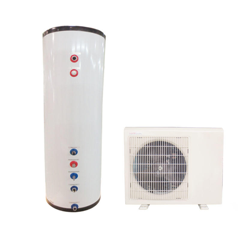 Air source split heat pump hot life water heater with 300Liter tank