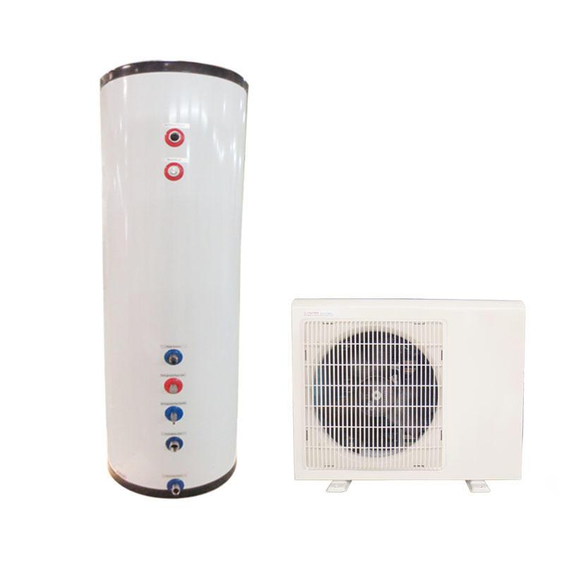 Air source split heat pump hot life water heater with 300Liter tank