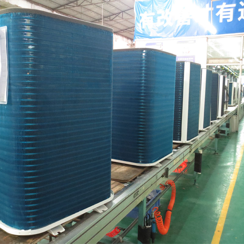 product-OSB-3 Ton Vertical CE Approved High Quality Air Source Heat Pump Water Heater With Low Noise