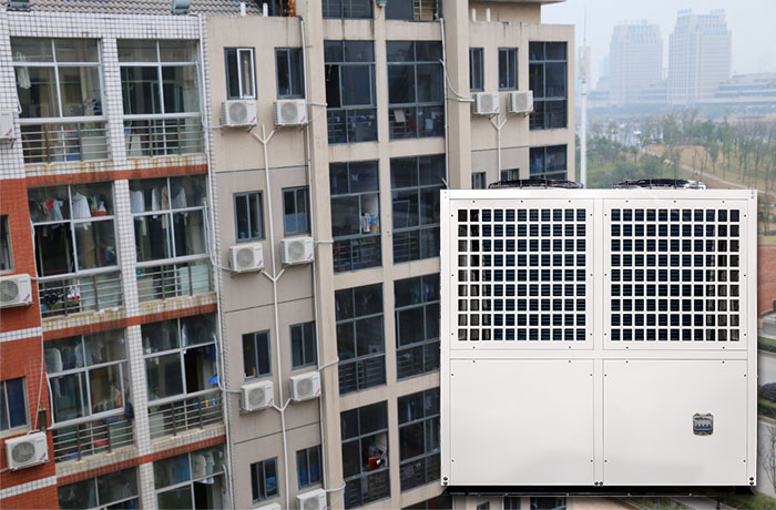 product-Split air conditioner chiller heat pump Air source water heater and cooler BB35-650T 78kw-OS-1