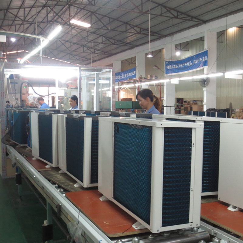 product-OSB-Air To Water Chiller Heat Pump Suitable For Floor Heating And Fan Coil Cooling BB15-070S