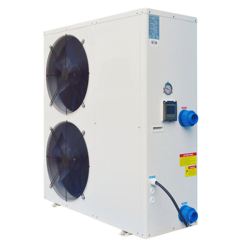 Low noise swimming pool / jacuzzi heat pump heater and chiller BS36-055S