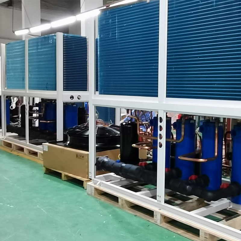 product-OSB Heat Pump-Special tip fan design swimming pool heat pump heater with wifi function BS15--1