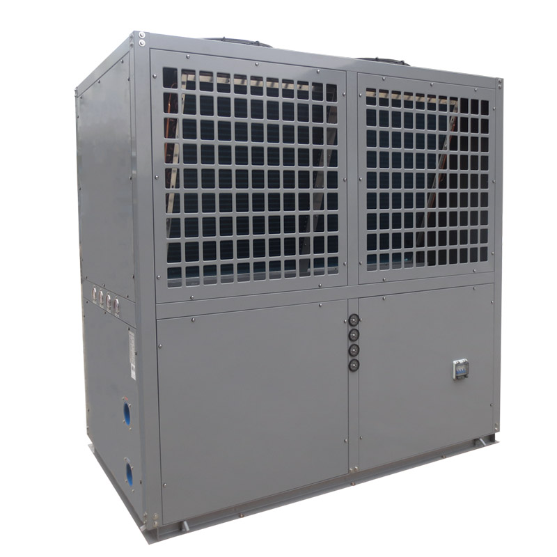 product-OSB Heat Pump-Grey metal shell swimming pool heat pump heater and chiller BS35-205T-img