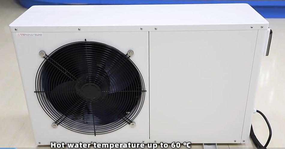9.5kw air source heat pump heater