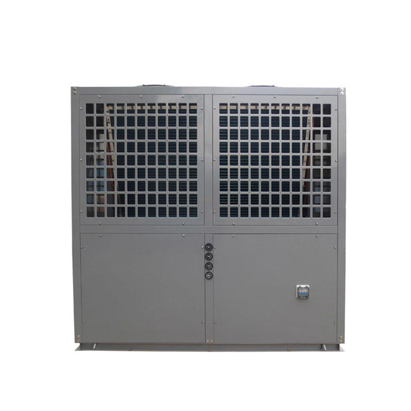 Grey metal shell swimming pool heat pump heater and chiller BS35-205T