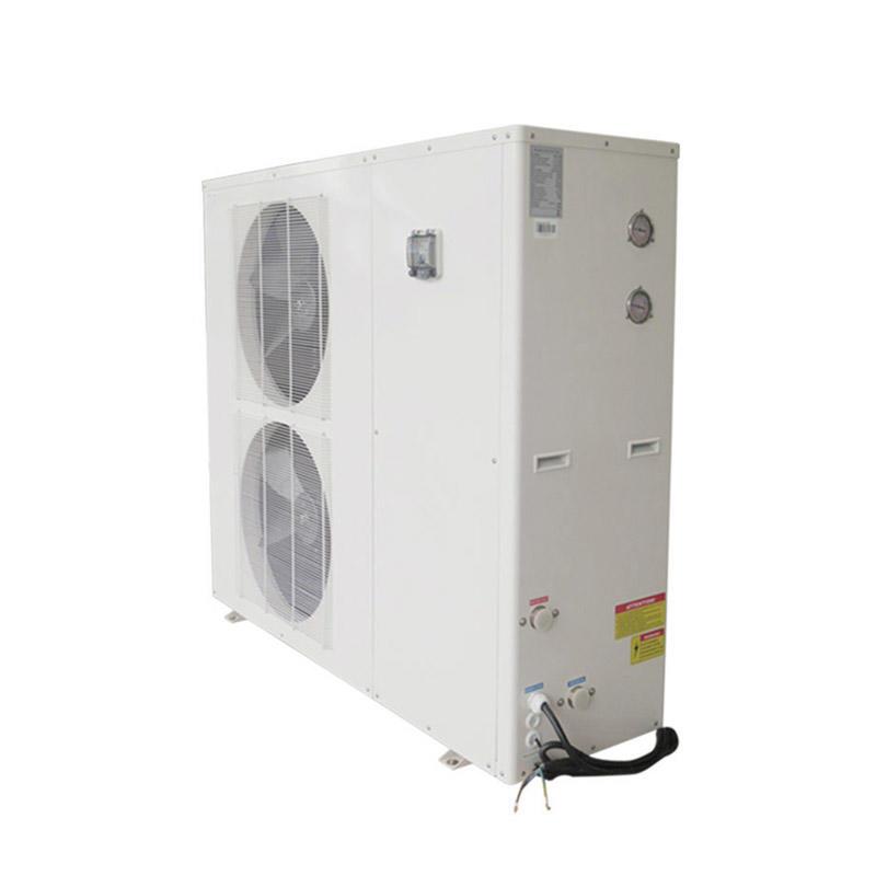R32 dc Inverter system metal shell air source heat pump heater BB1I-120S