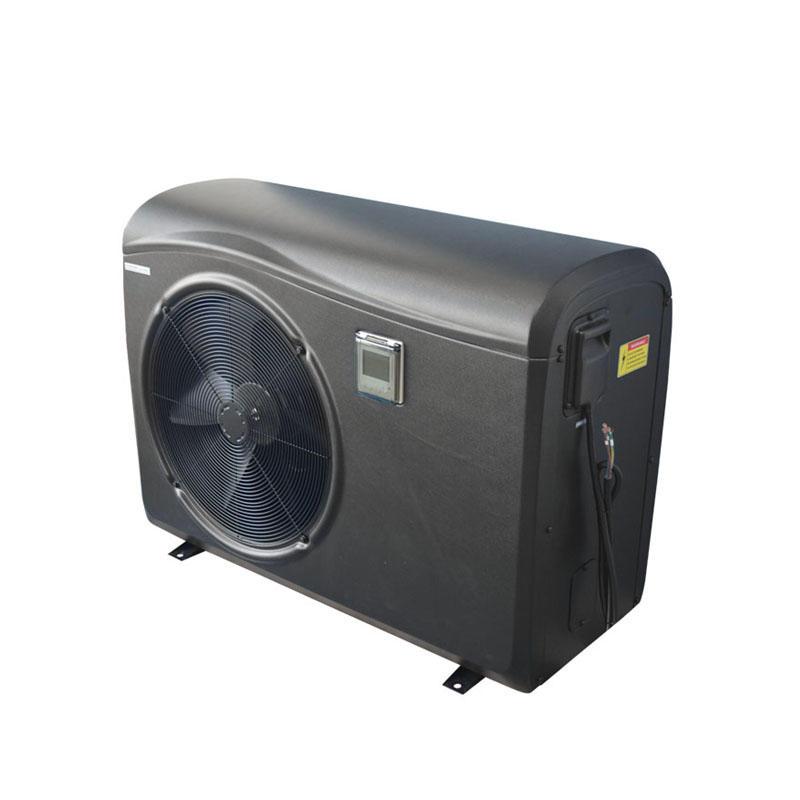 Black plastic cabinet swimming pool inverter heat pump BS1I-030S