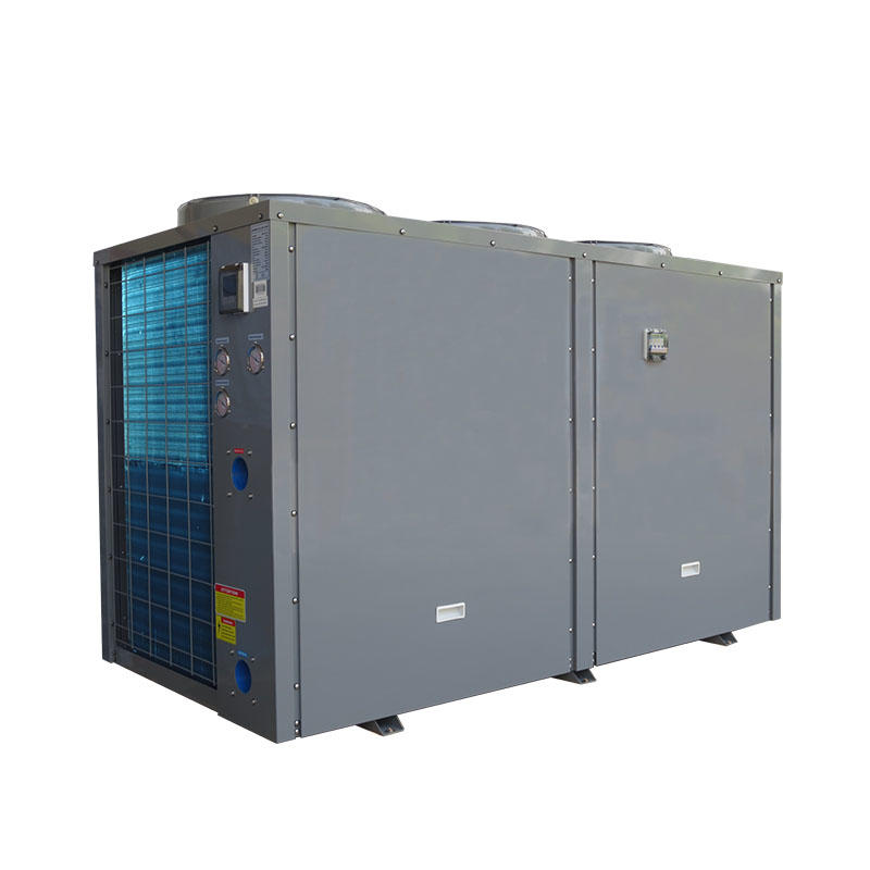 Multi function heat pump for heating cooling and hot water supply