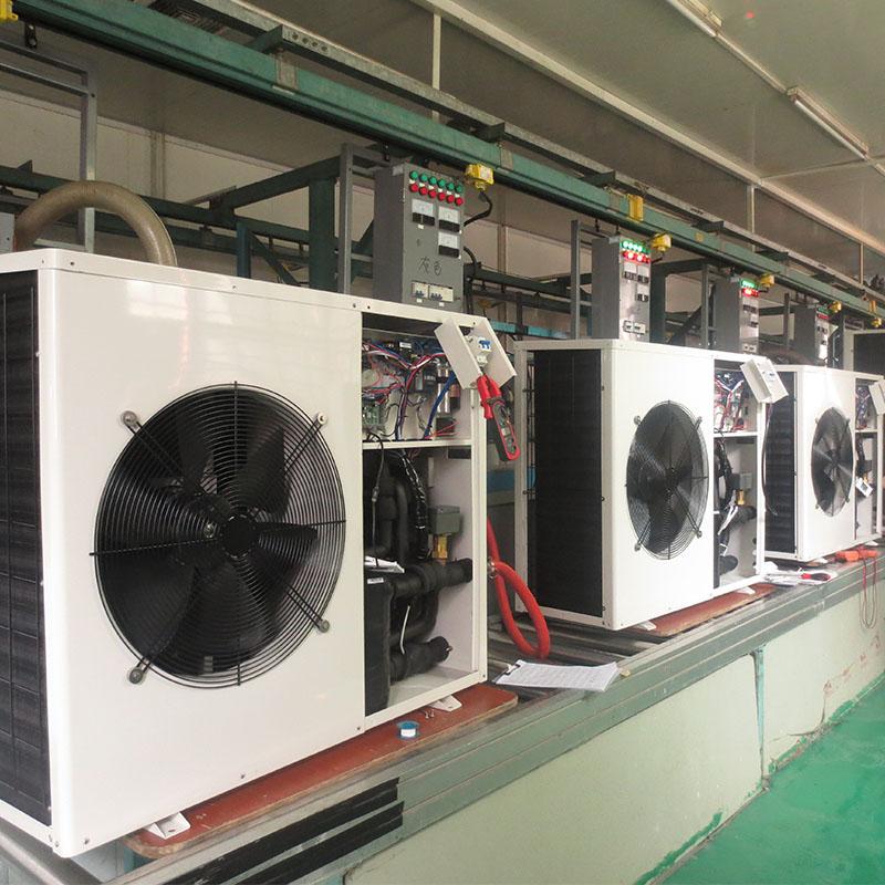 product-OSB Heat Pump-380v3 phase50-60Hz Vertical Titanium Swimming Pool Heat Pump water heatercoole-1