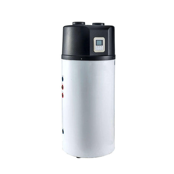 Air Ducted Air Source Water Heater All In One Heat Pump Boiler ZR9W-200TE/ ZR9W-250WE