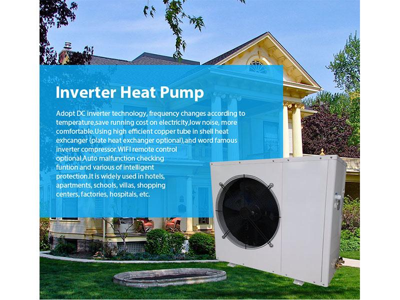 R32 Inverter heat pump